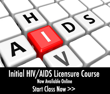 Initial HIV/AIDS Licensure Course