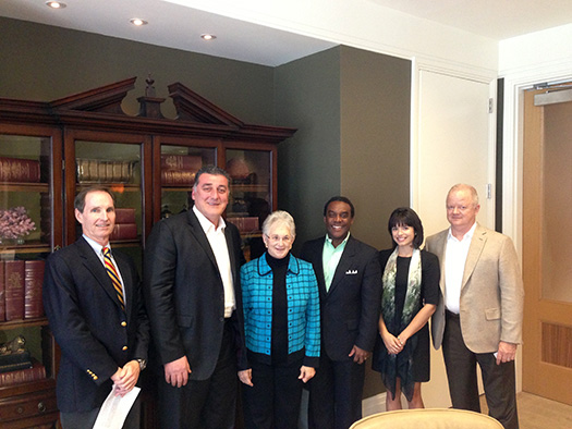 Members of FACTS luncheon meeting with US Congresswoman Virginia Foxx in Orlando, Florida.